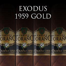 Carlos Torano Exodus 1959 Gold