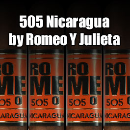 Romeo 505 Nicaragua by Romeo y Julieta