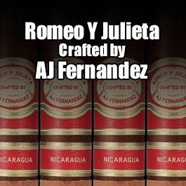 Romeo y Julieta Crafted by AJ Fernandez