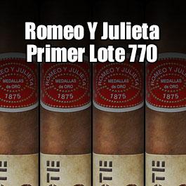 Romeo y Julieta Primer Lote 770