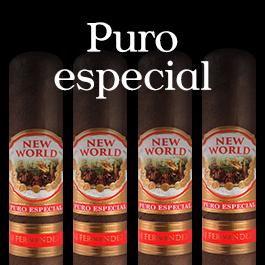 New World Puro Especial by AJ Fernandez
