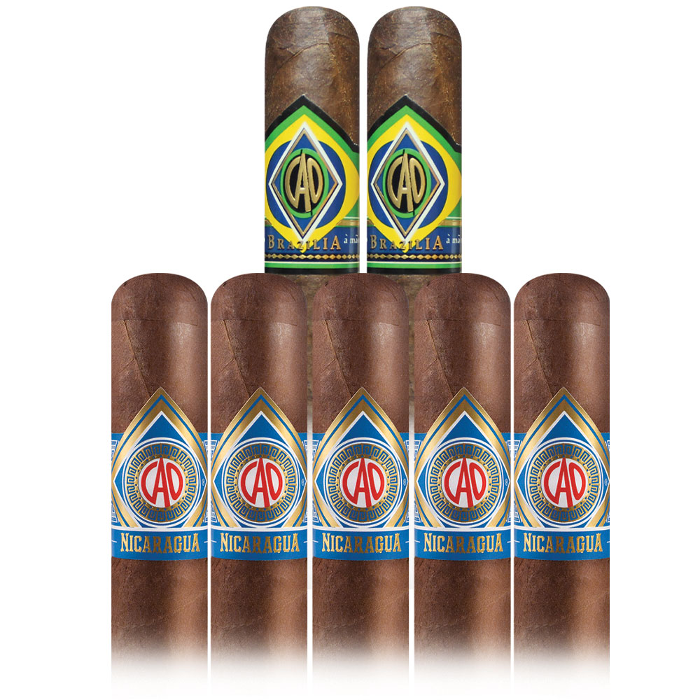 Add 7 CAO cigars ($46.20 value) for only $2.99 with box purchase