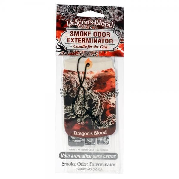Smoke Odor Exterminator Candle for the Car Dragon's Blood
