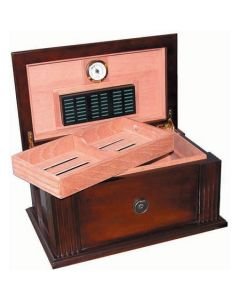 Amalfi 50-75 Cigar Antique Style Humidor