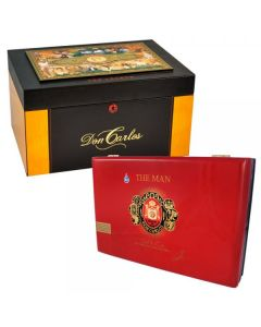 Carlos A. Fuente The Legend Commemorative Humidor w. Cigars