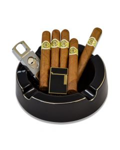 Macanudo Ashtray Cutter And Cigars Gift Set