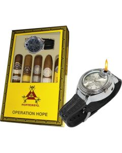 Montecristo Father's Day Collection With Watch Lighter