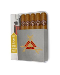 Montecristo Robusto Cigar Collection With Lighter