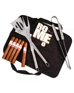 Romeo By Romeo Y Julieta Toro Barbeque Gift Set with cigars