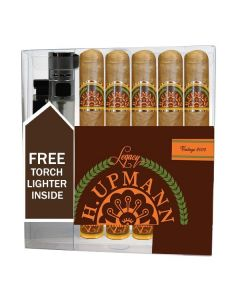 H Upmann Legacy Toro Cigar Collection With Lighter