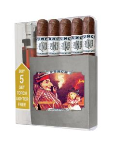 Punch Signature Robusto Cigar Collection With Lighter