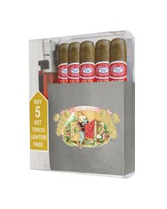 Romeo Y Julieta 1875 Bully Cigar Collection With Lighter
