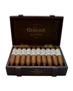 Gurkha Cellar Reserve 21 Year Solara-double robusto