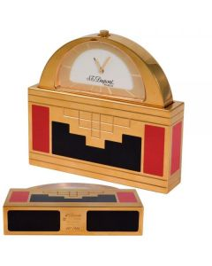 St Dupont Table Clock Red