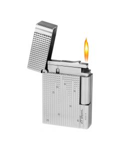 St Dupont Limited Edition Diamond Drops Platinum W/ Diamonds Gatsby Lighter