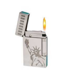 St Dupont Lighter Ny Statue Of Liberty Line 2