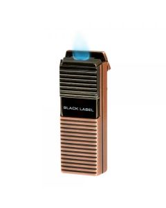 Black Label El Presidente Flat Flame Lighter Copper