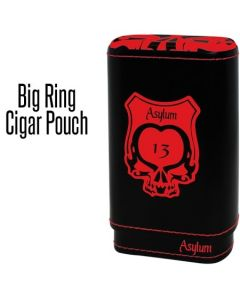 Asylum Super Size Leather Case Red