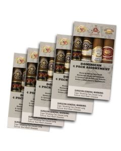 Dominican 4 Pack Assortment