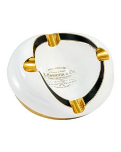 Gurkha White Ashtray Limited Collection