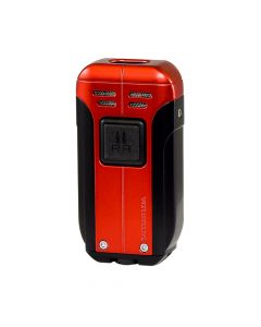 Barracuda Double Torch Lighter Red Black