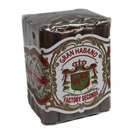 Gran Habano Factory Seconds 52x5 Natural bdl of 20