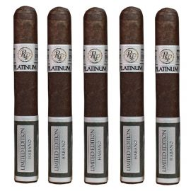 Rocky Patel Platinum Limited Edition Robusto NATURAL pack of 5
