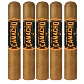 Camacho Connecticut BXP Robusto NATURAL pack of 5