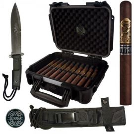 Gurkha Spec Ops Titan Churchill Knife and Case Combo MADURO box of 20