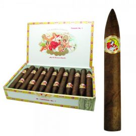 La Gloria Torpedo No. 1 NATURAL box of 25