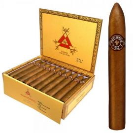 Montecristo No. 2 Torpedo NATURAL box of 25