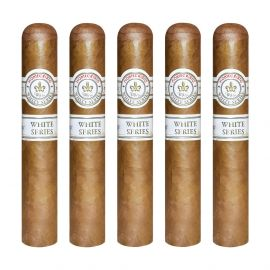 Montecristo White Rothchilde Natural pack of 5