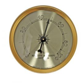 Cigar Oasis Western Analog Hygrometer single