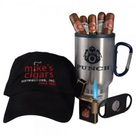Punch Tumbler and Cigars Gift Set each