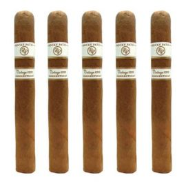 Rocky Patel Vintage 1999 Six By Sixty NATURAL pack of 5