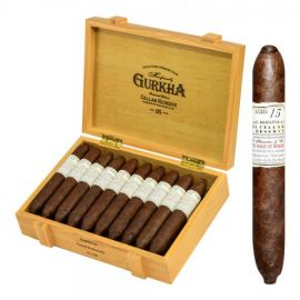 Gurkha Cellar Reserve 15 Year Hedonism - grand rothschild NATURAL box of 20
