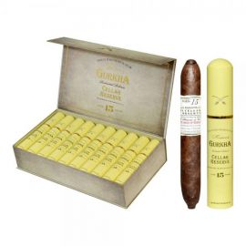 Gurkha Cellar Reserve 15 Year Hedonism Tubo - grand rothschild NATURAL box of 20