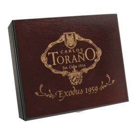 Carlos Torano Exodus 1959 Gold Torpedo NATURAL box of 24
