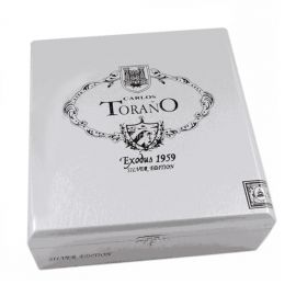 Carlos Torano Exodus Silver Torpedo NATURAL box of 25