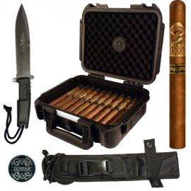 Gurkha Sniper Spec Ops Churchill Knife and Case Combo NATURAL box of 20