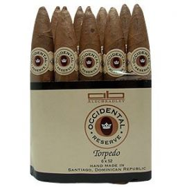 Alec Bradley Occidental Reserve Torpedo NATURAL bdl of 20