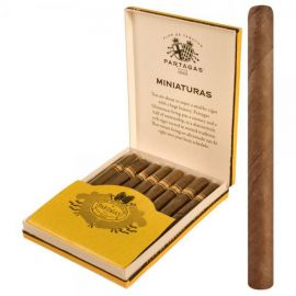 Partagas Miniature 8 NATURAL pack of 8