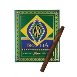 CAO Brazilia Minis 20 NATURAL pack of 20