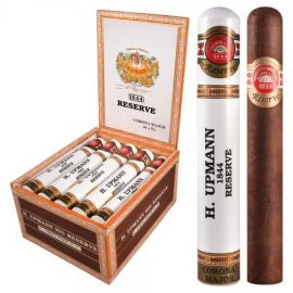 H Upmann 1844 Reserve Corona Major Tube NATURAL box of 15