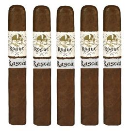 Gurkha Rogue Rascal-corona Extra NATURAL pack of 5