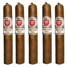 George Rico Miami STK American Puro Toro Grande NATURAL pack of 5