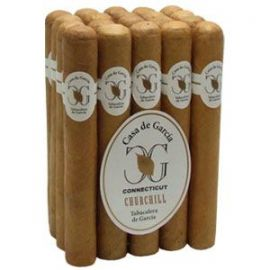 Casa De Garcia Connecticut Churchill NATURAL bdl of 20