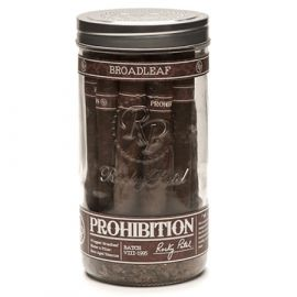 Rocky Patel Prohibition Toro Connecticut Broadleaf MADURO jar of 16
