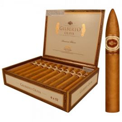 Oliva Gilberto Reserva Blanc 6x52 - Torpedo NATURAL box of 20
