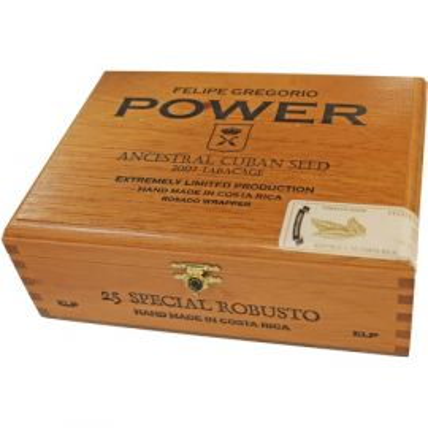 Felipe Gregorio Power 2014 Special Robusto NATURAL box of 25